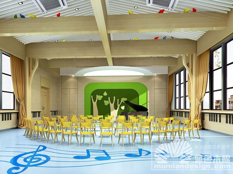 幼儿园音体室风格